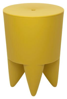 Furniture - Stools - New Bubu 1er Stool - / Box - Plastic by XO - Bollywood yellow - Polypropylene