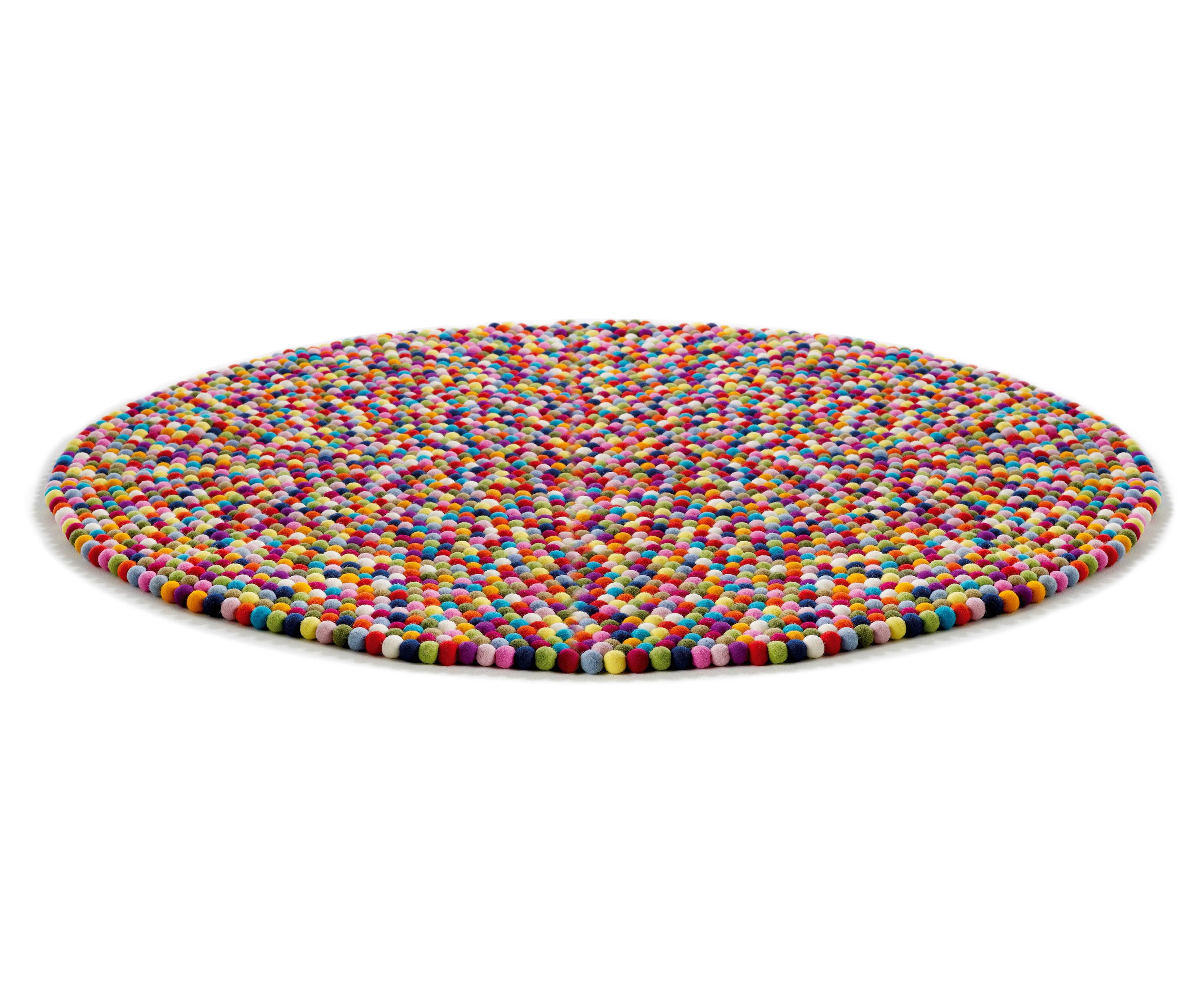 Mobilier - Tapis - Tapis Pinocchio Ø 140 cm - Hay - Multicolore - Laine
