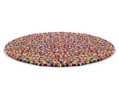 Möbel - Teppiche - Pinocchio Teppich Ø 140 cm - Hay - Mehrfarbig - Ø 140 cm - Wolle