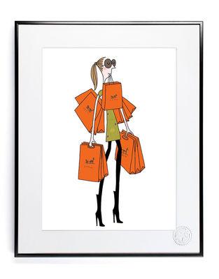 Déco - Objets déco et cadres-photos - Affiche Soledad - Sac orange / 30 x 40 cm - Image Republic - Sac orange - Papier