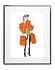 Affiche Soledad - Sac orange / 30 x 40 cm - Image Republic