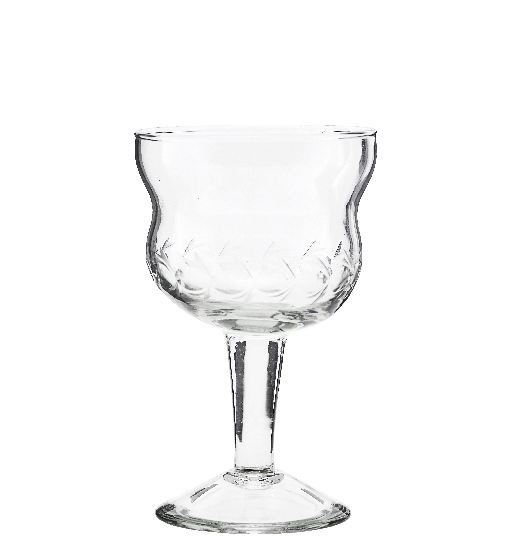 Tavola - Bicchieri  - Bicchiere da vino Vintage di House Doctor - Trasparente - Verre ciselé