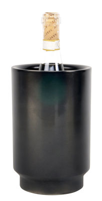 Tableware - Wine Accessories - Rondo Bottle cooler by XL Boom - Black - Stainless steel