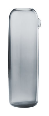 Tableware - Water Carafes & Wine Decanters - I'm Boo Carafe by Muuto - Blue-grey - Mouth blown glass
