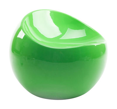 Furniture - Kids Furniture - Baby ball chair Children pouf - / Exclusivity by XL Boom - Flashy green - Recycled lacquered ABS
