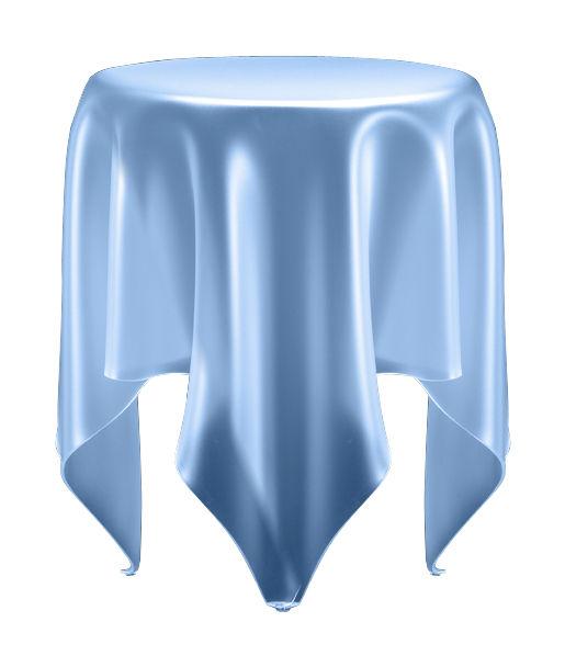 Möbel - Couchtische - Grand Illusion Couchtisch / H 52 cm x Ø 44 cm - Essey - Transparent gefrostet - PMMA, Polyacryl