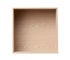 Etagère Mini Stacked 2.0 / Medium carré 33x33 cm / Avec fond - Muuto