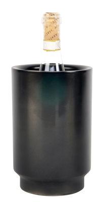Tischkultur - Bar, Wein und Apéritif - Rondo Flaschenkühler - XL Boom - Schwarz - rostfreier Stahl