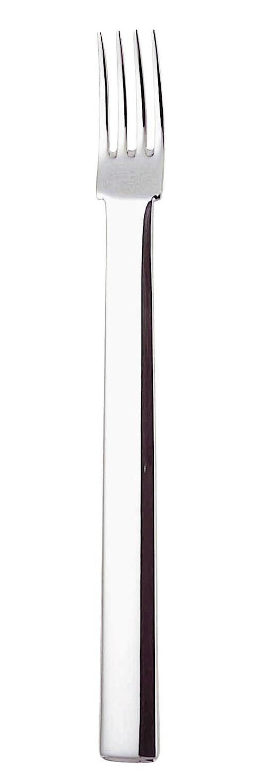 Arts de la table - Couverts de table - Fourchette à dessert Rundes Modell / Réédition 1906 - Alessi - Fourchette à dessert - Acier - Acier inoxydable 18/10