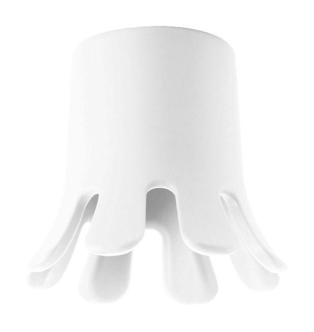 Möbel - Möbel für Teens - Splash Hocker / Blumentopf - Ø 29 cm x H 42 cm - B-LINE - Weiß - Polyäthylen