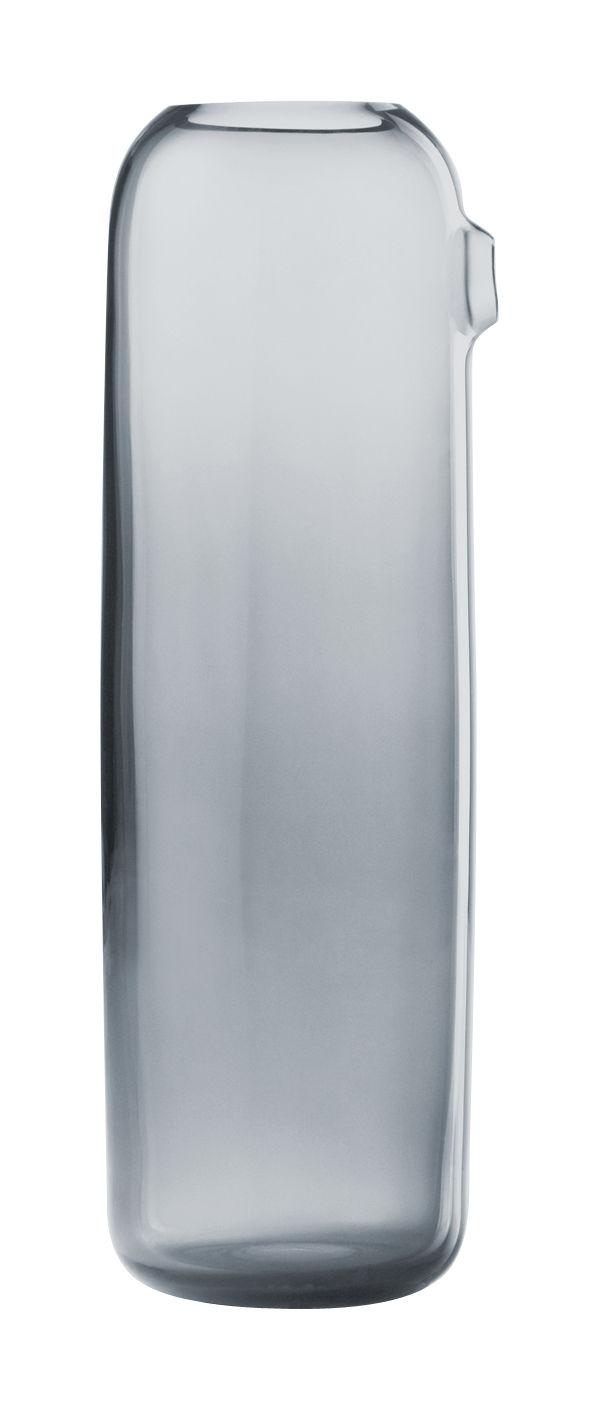 Tischkultur - Karaffen - I'm Boo Karaffe - Muuto - Grau-blau - mundgeblasenes Glas