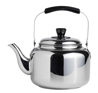 Kitchenware - Kettles & Teapots - Kettle - / 4 l - Steel by Hay - Steel - Plastic, Stainless steel