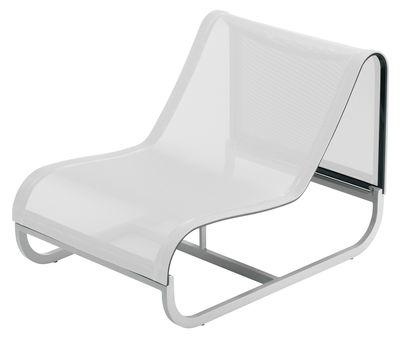 Tandem Lounge Sessel mittleres Modul - EGO Paris - Weiß