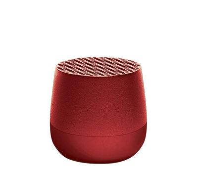 San Valentino - San Valentino: Le nostre migliori idee per Lei - Mini cassa acustica Bletooth Mino - / Wireless - Ricarica USB di Lexon - Rosso - ABS, Alluminio