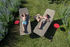 Envie d'ailleurs - Cocotiers Outdoor cushion - / 70 x 70 cm by Fermob