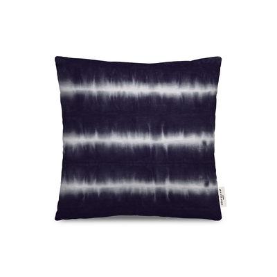 Dekoration - Kissen - Rhodes Outdoor-Kissen / 45 x 45 cm - PÔDEVACHE - Tie & Dye / Blau - Polyesterfaser, Polystretch
