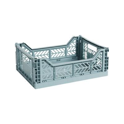 Panier Colour Crate Medium / 40 x 30 cm - Hay bleu en matière plastique