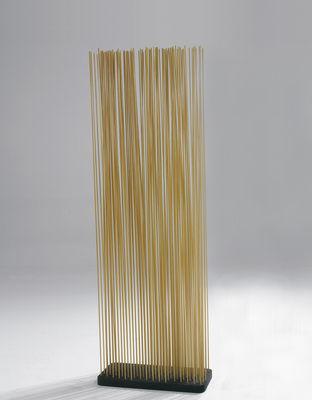 Mobilier - Paravents, séparations - Paravent Sticks / L 60 x H 120 cm - Intérieur & extérieur - Extremis - Naturel - Caoutchouc recyclé, Fibre de verre renforcée