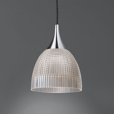 Lana Pendelleuchte / LED - Artemide - Weiß,Metall Poliert