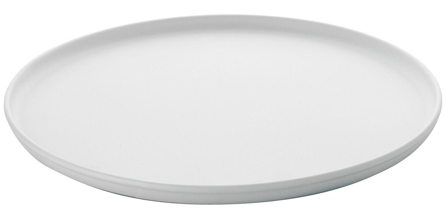 Cuisine - Vaisselle et nettoyage - Plateau A Tempo Ø 38 cm - A di Alessi - Blanc - Résine thermoplastique