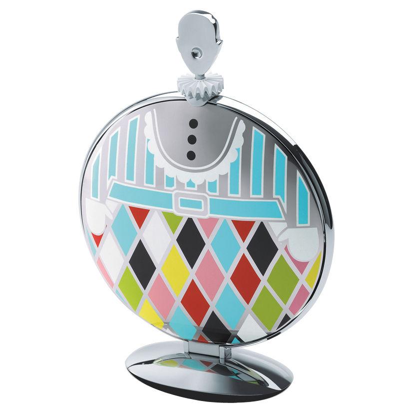 Arts de la table - Plats - Plateau Fatman / Pliable - L 47,2 cm - 3 étages - Alessi - Acier inoxydable brillant & Multicolore - Acier