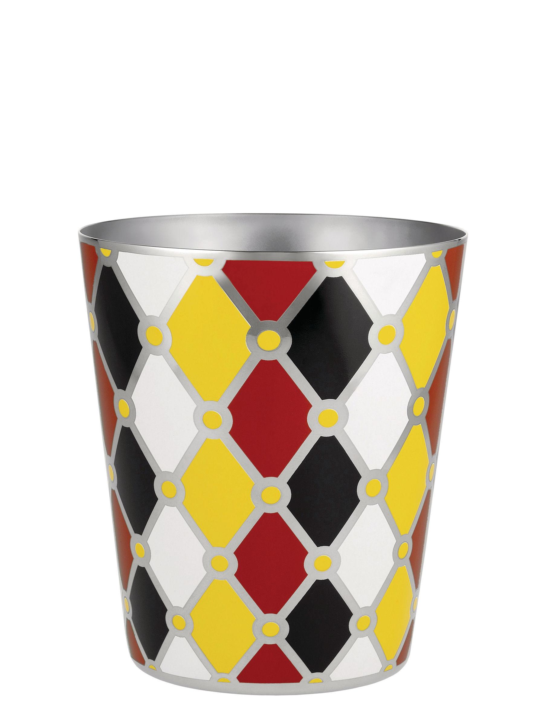 Arts de la table - Bar, vin, apéritif - Seau à glace Circus / H 15 cm - Métal - Alessi - Multicolore - Acier inoxydable peint