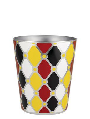 Tavola - Bar, Vino, Aperitivo - Secchiello per il ghiaccio Circus / H 15 cm - Metallo - Alessi - Multicolore - Acciaio inossidabile verniciato