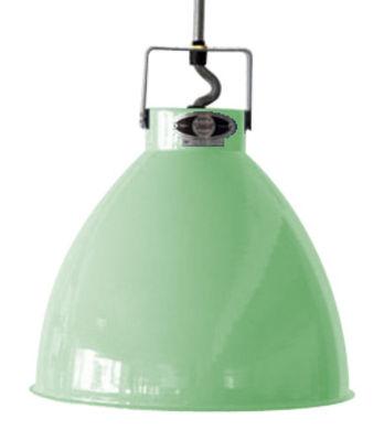 Suspension Augustin XL Ø 54 cm - Jieldé vert d'eau brillant en métal