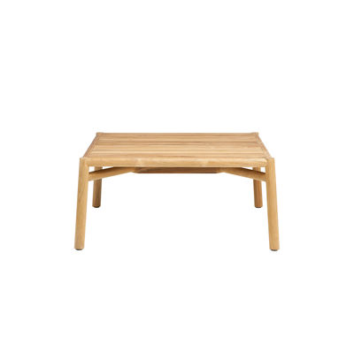 Table basse Kilt / 65 x 65 cm - Teck naturel - Ethimo bois naturel en bois