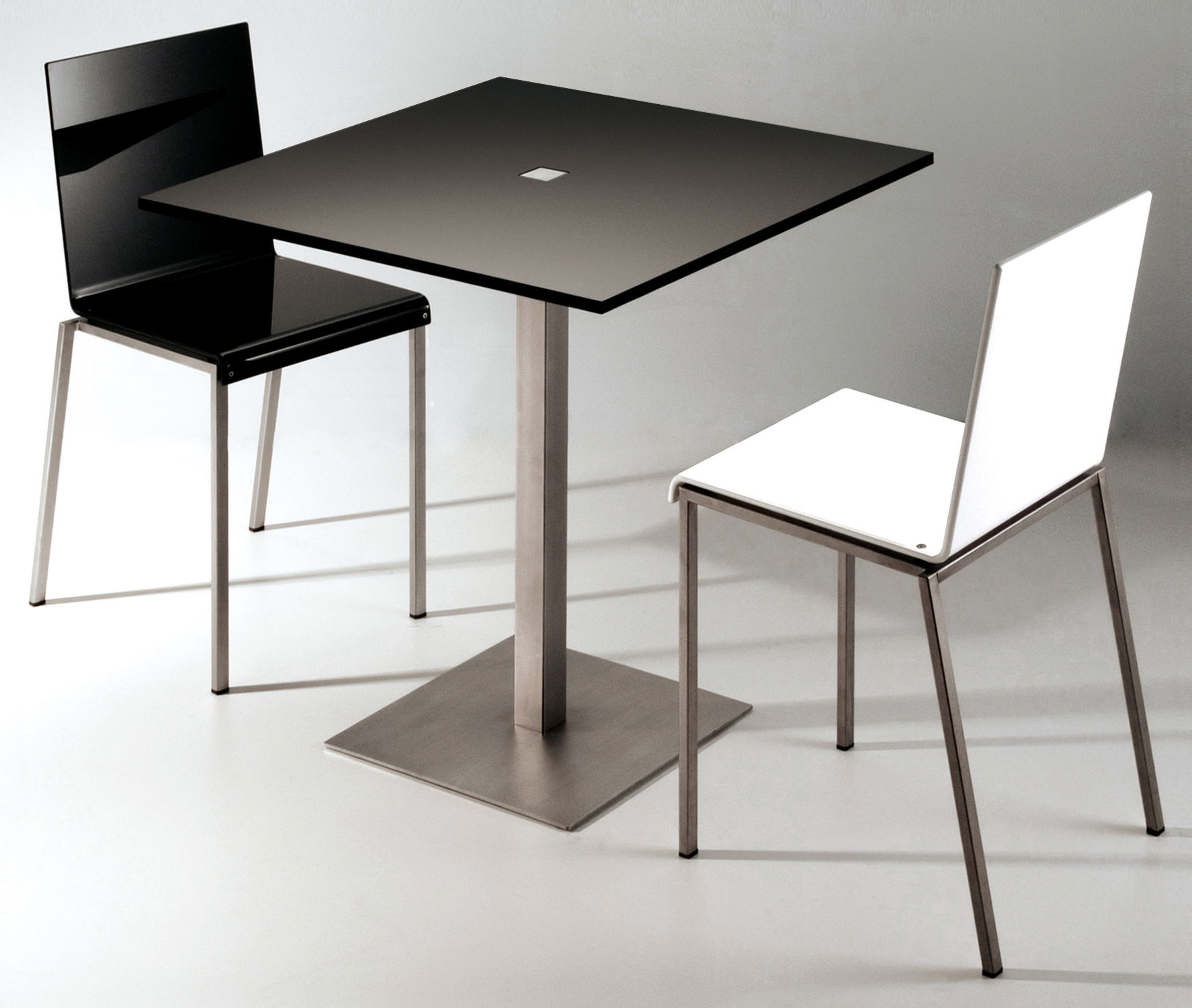 ... Furniture - Dining Tables - Slam Table by Zeus - Glossy white - 60x60  cm - 6e87bfa8f56d