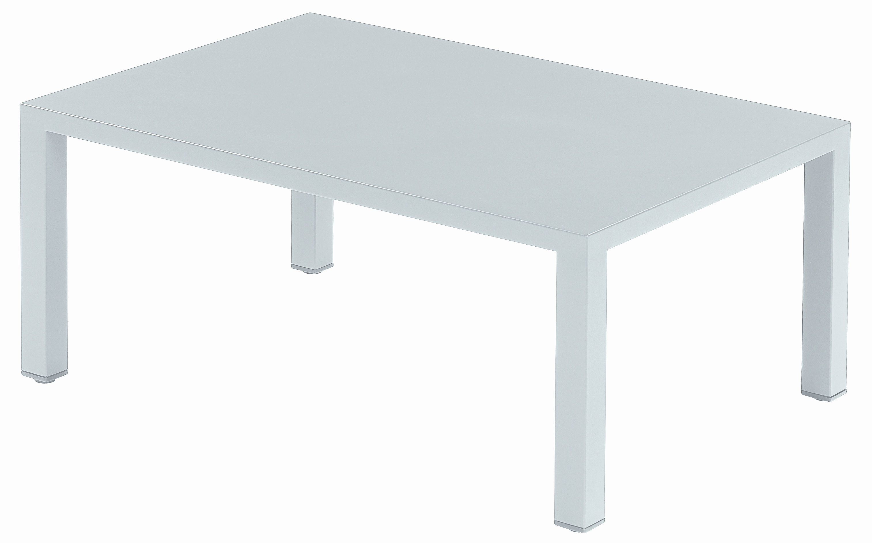 Arredamento - Tavolini  - Tavolino Round di Emu - Bianco - Acciaio