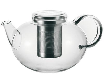 Tischkultur - Tee und Kaffee - Moon Teekanne 2 L - Leonardo - Transparent - 2 L - Glas, Stahl