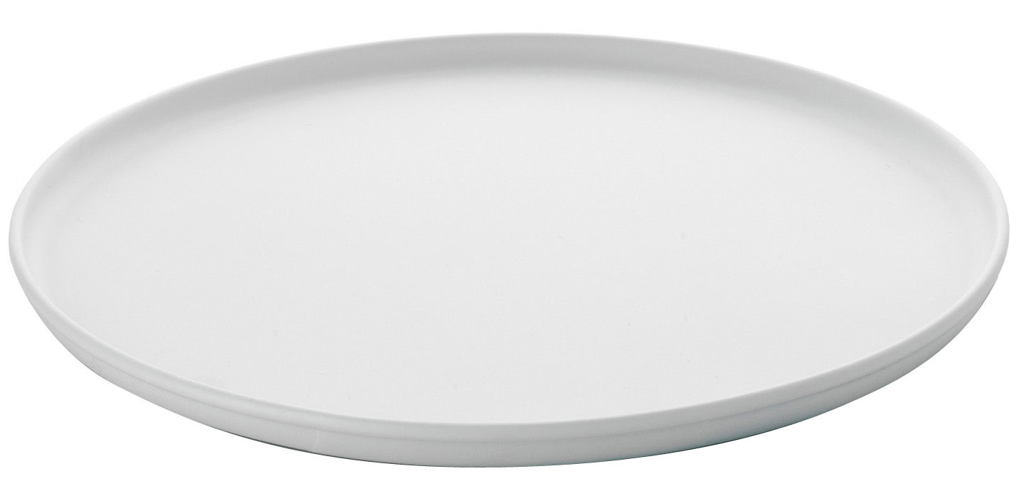 Kitchenware - Kitchen Sink Accessories - A Tempo Tray - Ø 38 cm by A di Alessi - White - Thermoplastic resin