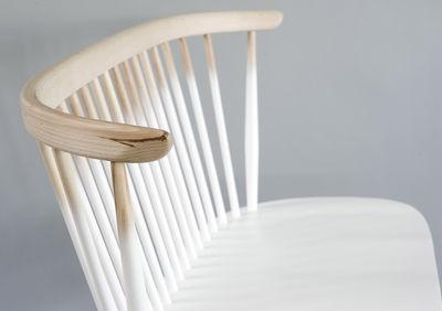 Banc Avec Dossier Love Seat Ercol Blancbois Naturel Made In Design