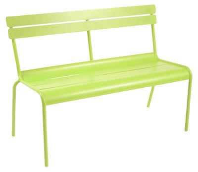 Life Style - Luxembourg Bank mit Rückenlehne 2- bis 3-Sitzer - Fermob - Eisenkraut - lackiertes Aluminium
