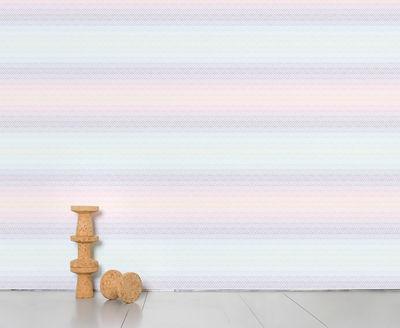 Interni - Sticker - Carta da parati panoramica Optical Grid - / Panoramica - 8 strisce di Domestic - Optical grid - Tessuto non tessuto