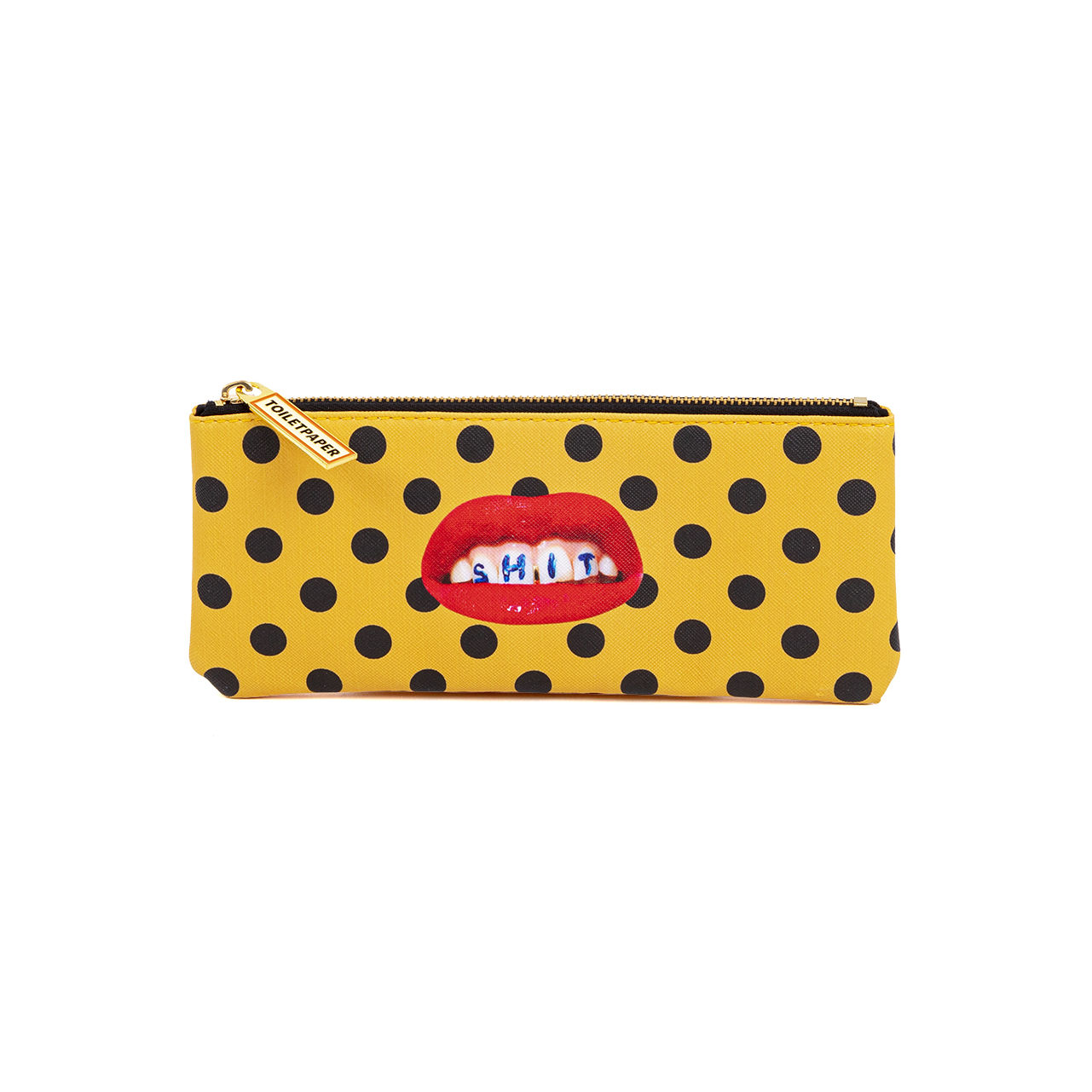Accessories - Bags, Purses & Luggage - Toiletpaper Case - / Shit - Fabric by Seletti - Shit - Polyester, Polyurethane