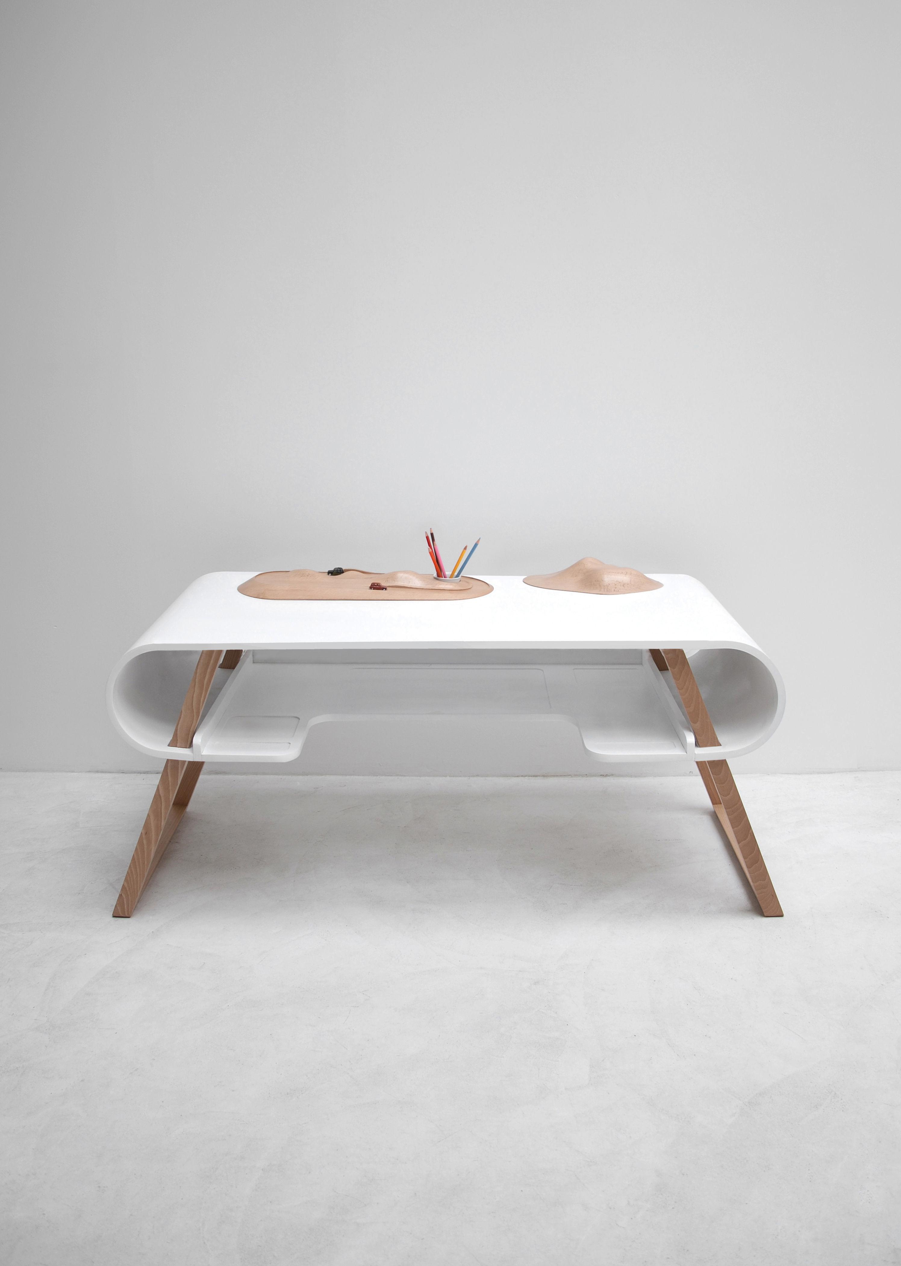 Children S Desk Rubens By Compagnie White Made In