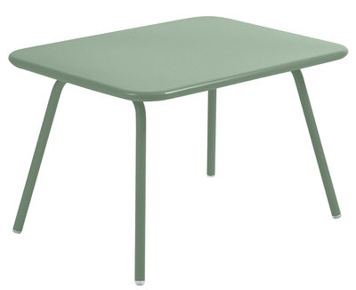 Furniture - Coffee Tables - Luxembourg Kid Children table by Fermob - Cactus - Lacquered steel