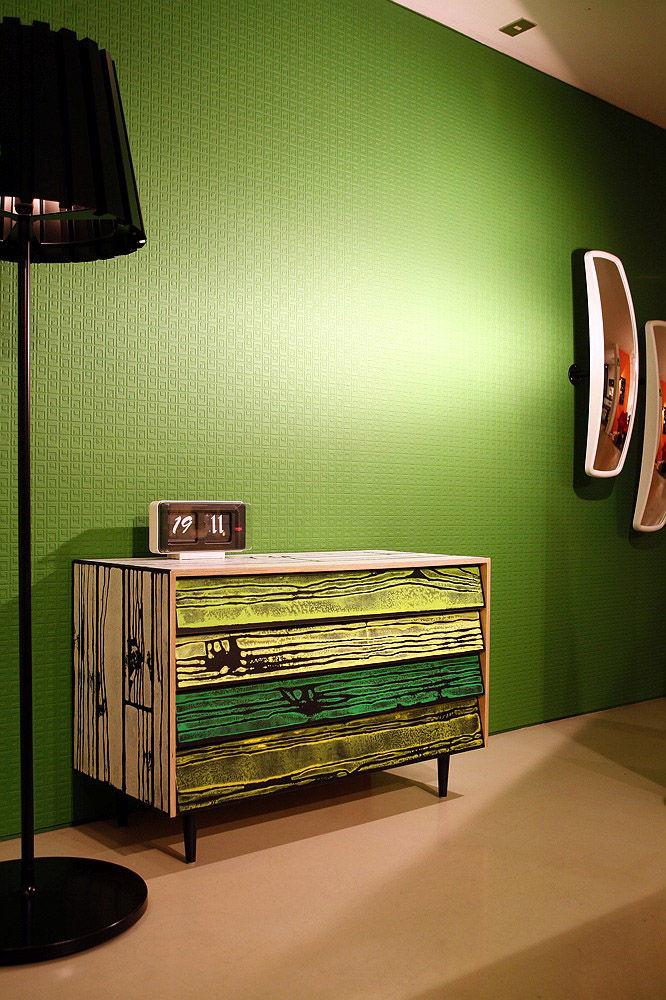 commode noir et blanc trendy commode datelier patine en. Black Bedroom Furniture Sets. Home Design Ideas