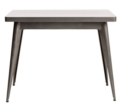 Furniture - Console Tables - 55 Console by Tolix - Without drawer / Steel - Gloss varnish raw steel