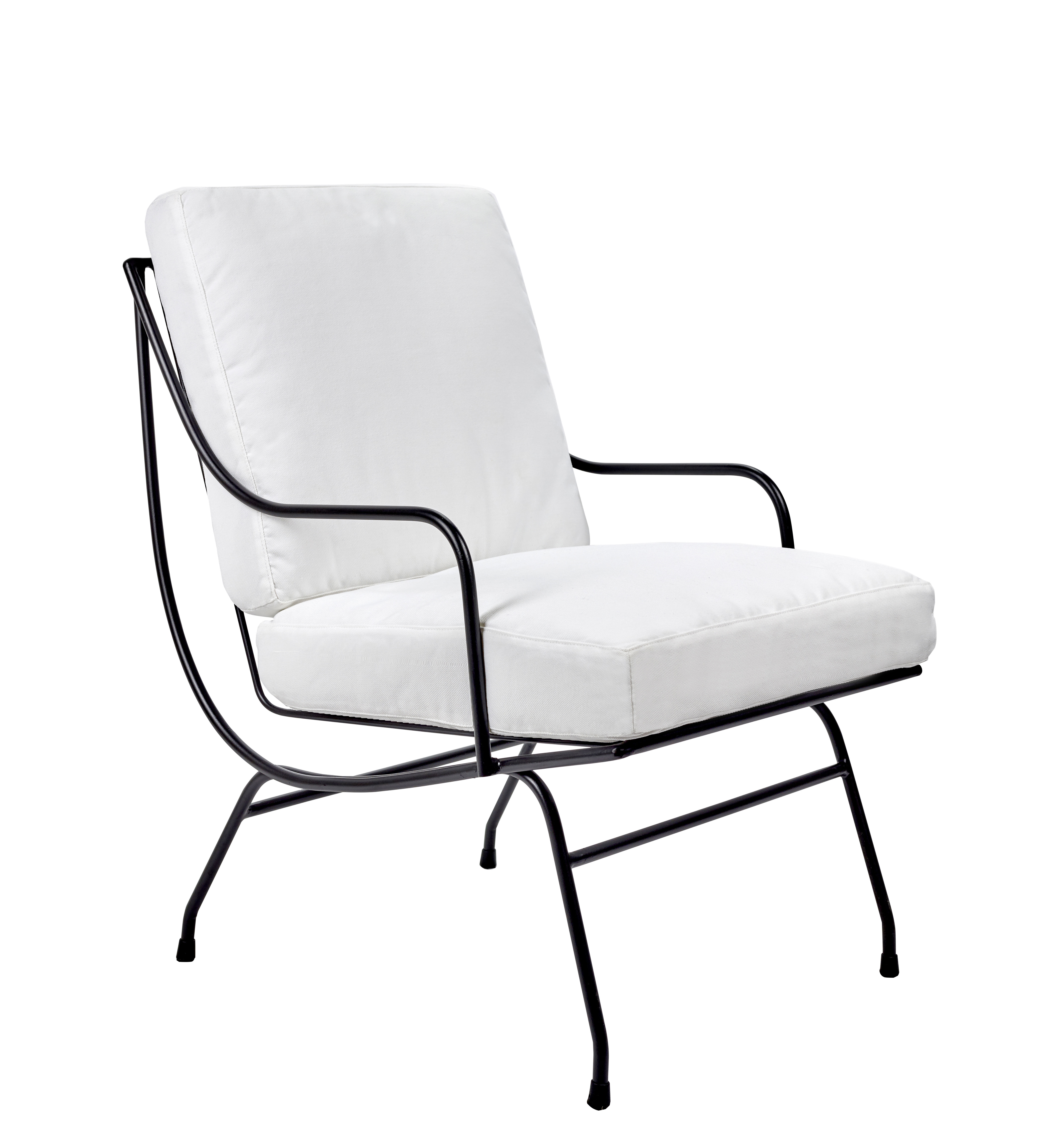 Low Armchair Stresa By Serax White Made In Design Uk