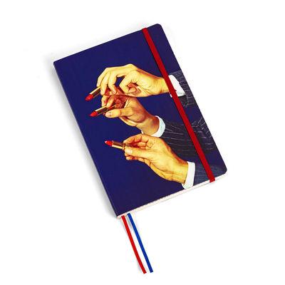 Accessories - Pens & Notebooks - Toiletpaper Notepad - / Lipsticks - Large 21 x 14 cm by Seletti - Lipsticks - Ivory paper, Polyurethane