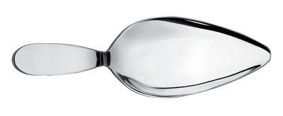 Tavola - Posate da portata - Paletta da torta Eat.it di Alessi - Metallo brillante - Acciaio inox 18/10