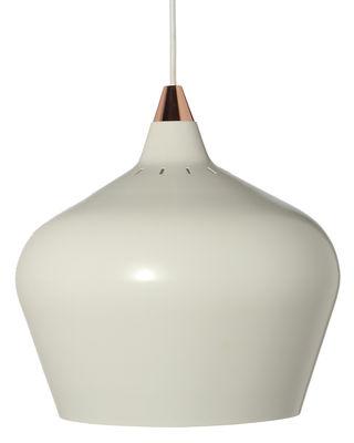 Cohen XL Pendelleuchte / Ø 32 cm - Frandsen - Weiß,Kupfer