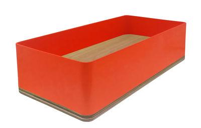 Image of Portamatite Portable Atelier / Moleskine - Basso - Driade - Arancione - Metallo/Legno