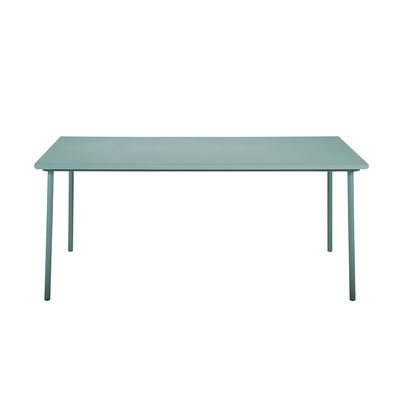 Outdoor - Garden Tables - Patio Rectangular table - / Stainless steel - 200 x 100cm by Tolix - Lichen green - Stainless steel