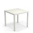 Nova Square table - / Metal - 80 x 80 cm by Emu
