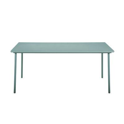 Jardin - Tables de jardin - Table rectangulaire Patio / Inox - 200 x 100 cm - Tolix - Vert Lichen - Acier inoxydable