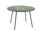 Table ronde Lorette Ø 110 cm Métal perforé Fermob cactus en métal